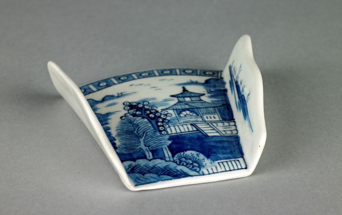 Asparagus Server, Derby porcelain manufactory