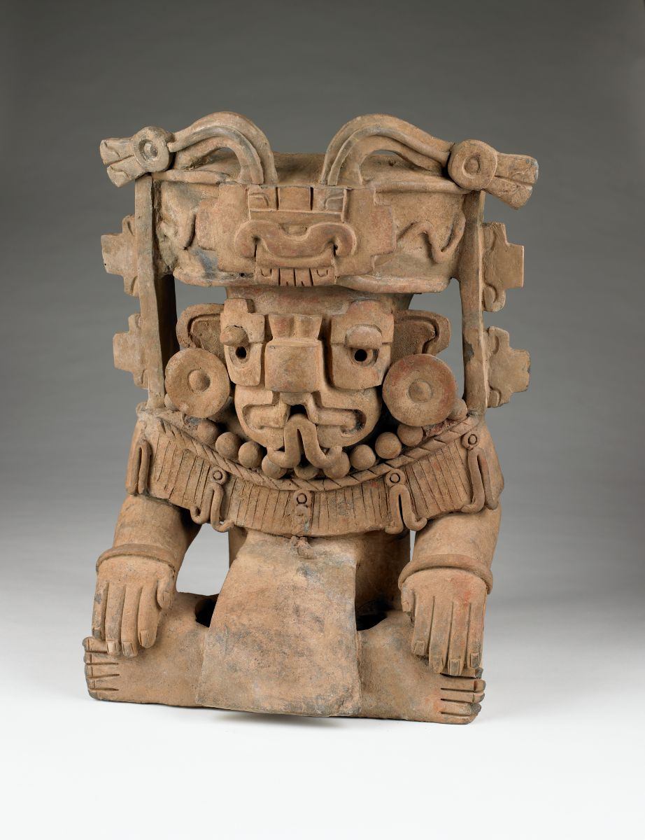 Urn Representing Cosijo, the God of Rain, Zapotec culture
