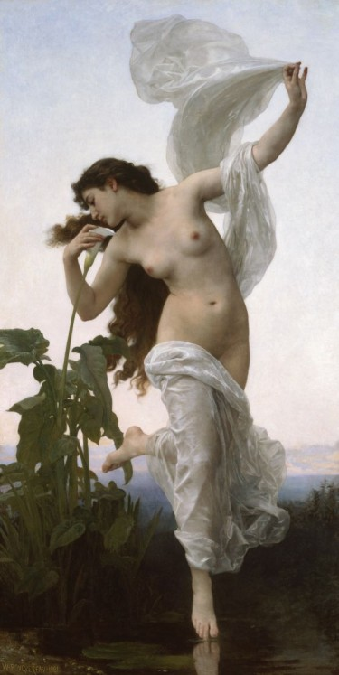 L'aurore (Dawn). William-Adolphe Bouguereau, 1881. Oil on canvas. Gift of the Estate of Nelle H. Stringfellow, 2005.111.