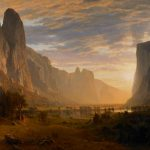 Looking Down Yosemite Valley, California. Albert Bierstadt, 1865. Oil on canvas. 64 1/2 × 96 1/2 inches. Gift of the Birmingham Public Library, 1991.879.