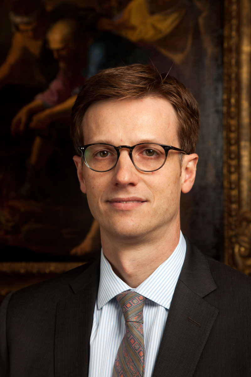 Curator of European Art Robert Schindler, PhD