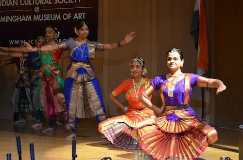 Holi dance performance