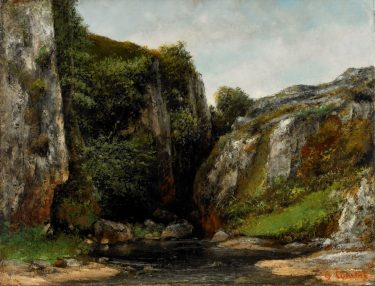Gustave Courbet (French, 1819-1877), oil on canvas, 1876. Museum purchase with funds provided by the Birmingham Museum of Art Endowment for Acquisitions; Members of the Birmingham Museum of Art; Dr. and Mrs. David Sperling in honor of their friends; Mr. Arthur E. Curl, Jr. in memory of his beloved wife, Donnie; Illges-Chenoweth Foundation; Dr. and Mrs. Jack C. Geer; Mr. James E. Simpson; Mr. and Mrs. James A. Livingston, Jr.; Mrs. Evelyn Allen; Mr. and Mrs. Thomas W. Barker, Jr.; and Mr. and Mrs. Harold H. Goings.