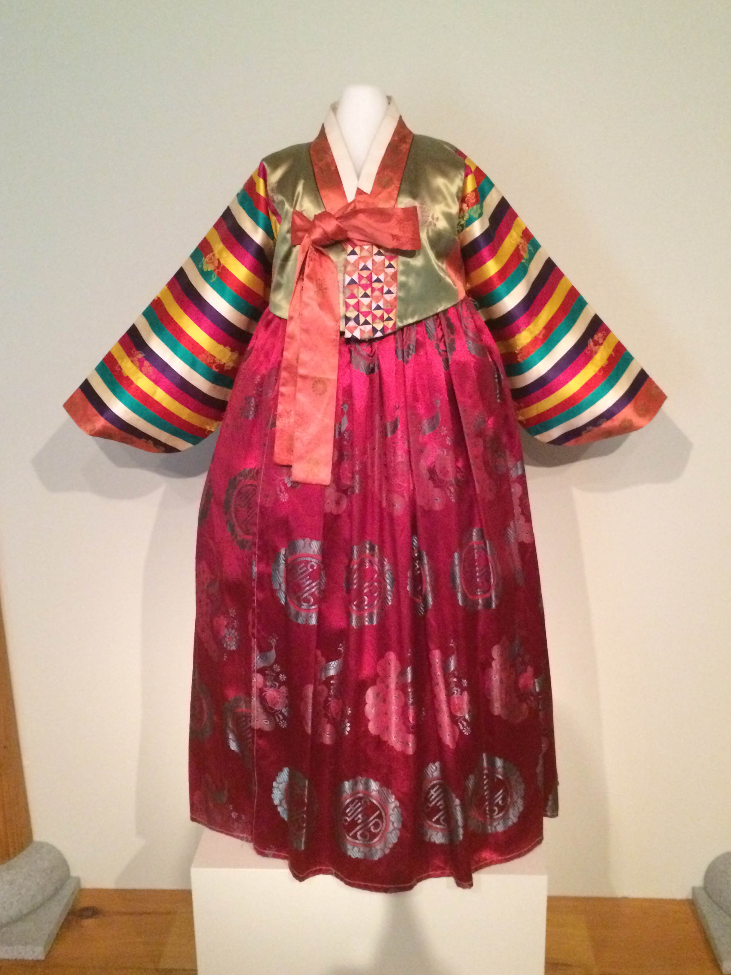 """Dress (Hanbok)"" (About 1960), Korea. Silk and cotton. Collection of the Art Fund, Inc. at the BMA. Gift of Mr. and Mrs. James E. Breece III. AFI919.2012.1-2."