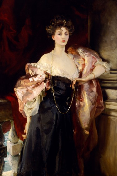 Lady Helen Vincent, Viscountess of d'Abernon. John Singer Sargent, 1904. Oil on canvas. Museum purchase with funds provided by John Bohorfoush, the 1984 Museum Dinner and Ball, and the Museum Store, 1984.121.