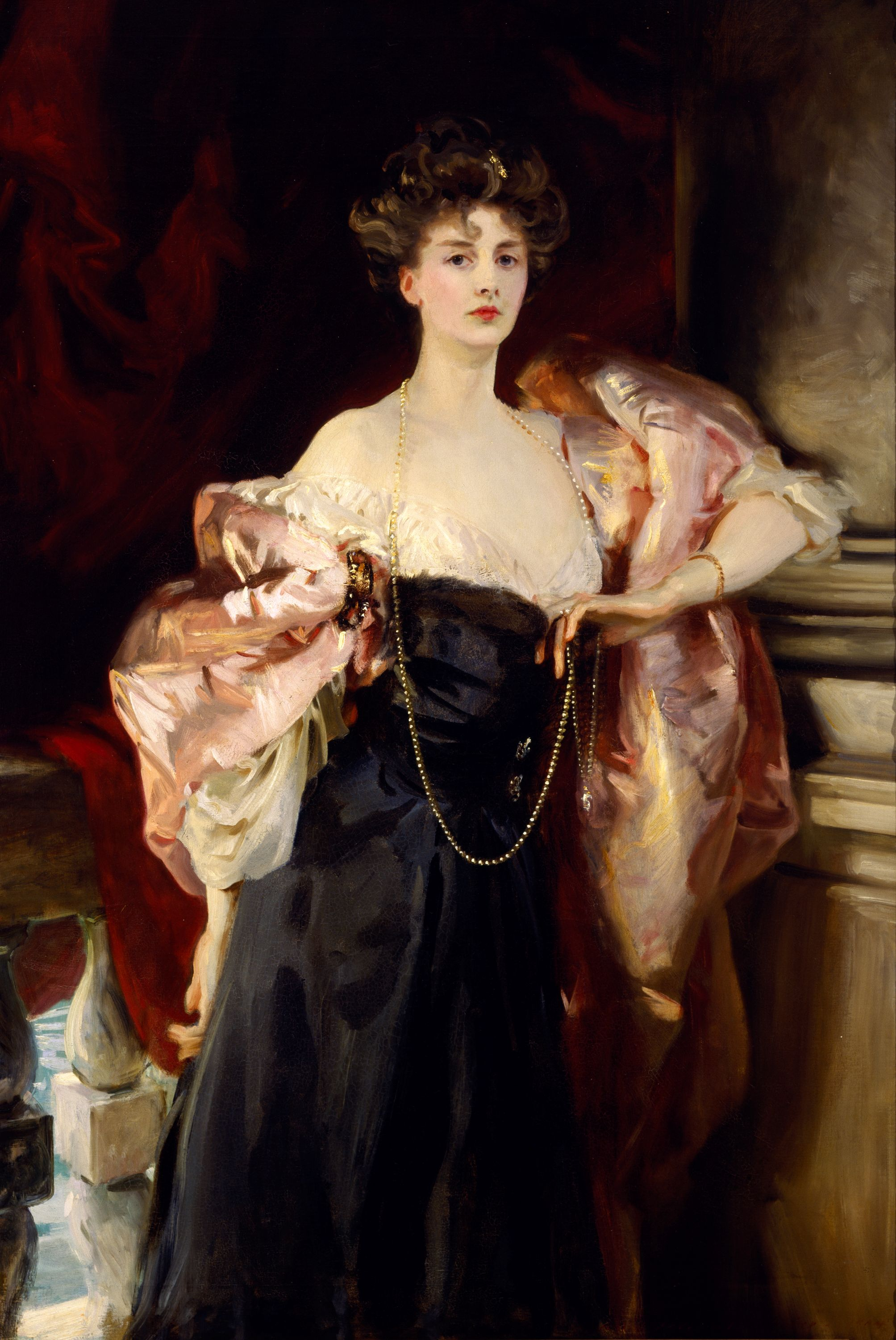"""Portrait of Lady Helen Vincent, Viscountess of d'Abernon"" (1904), John Singer Sargent, American (1856-1935). Oil on canvas. Museum purchase with funds provided by John Bohorfoush, the 1984 Museum Dinner and Ball, and the Museum Store. 1984.121."