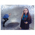 @_emilypatton saw the installation with a group of friends, and shared some goofy pictures with us!