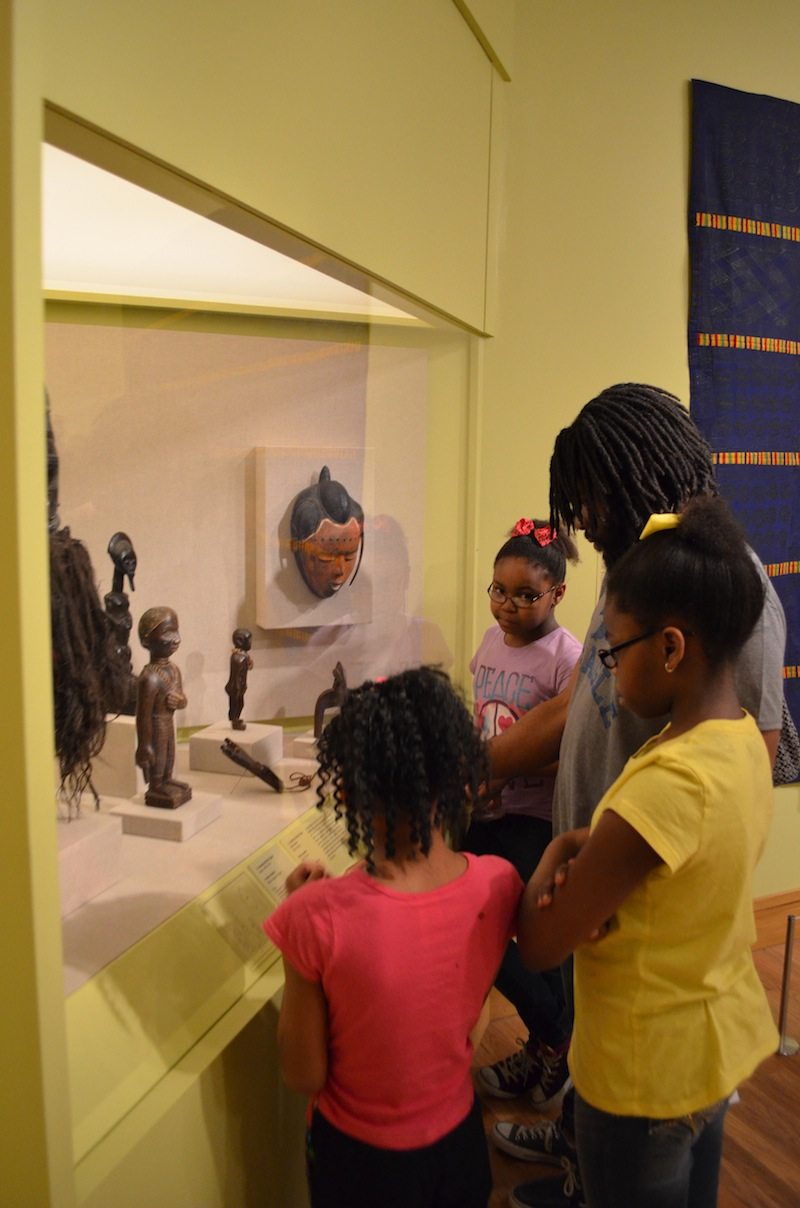 Exploring the new African Gallery