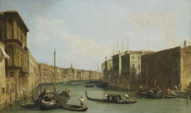 Slow Art Sunday: View of the Grand Canal, Venice