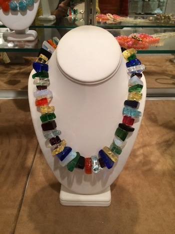 Jewelry // From necklaces to bangles, earrings to rings, the Museum Store has plenty of jewelry options to make your mom happy! We love this beautiful, colorful necklace, perfect for dressing up an outfit!