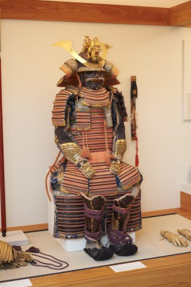 Armor (Tōsei Gusoku), Muromachi period (1392-1573), about 1550. Saotome Iyetada (Japanese, active mid-16th century). Lacquer, wood, iron and silk. Museum purchase with funds provided by the Endowed Funds for Asian Art Acquisitions, the Birmingham Museum of Art Volunteer Council, Mr. and Mrs. Thomas N. Carruthers, Jr., Mrs. Gerda Carmichael, Mr. James D. Sokol, Mr. and Mrs. Victor Hanson II, and Dr. and Mrs. James Kamplain, 1997.137.1-.6.
