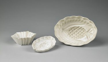 Culinary Molds, about 1750-1765. Staffordshire, England. Salt-glazed stoneware. Collection of the Art Fund, Inc. at the Birmingham Museum of Art; Catherine H. Collins Collection.