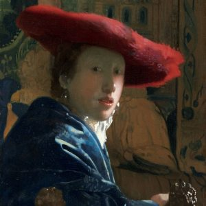 NGA_Johannes Vermeer, Girl in the Red Hat