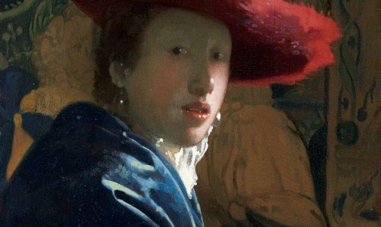 NGA_Johannes Vermeer, Girl in the Red Hat