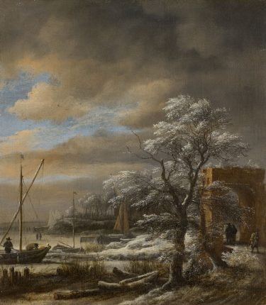 Slow Art Sunday: Canal in Winter