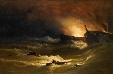 Slow Art Sunday: Tragedy at Sea