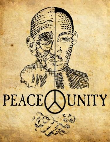 Peace and Unity. Hannah Amidon, 11th grade, Hoover High School.