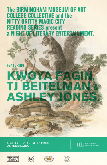 Birmingham Museum of Art College Collective and Nitty Gritty Magic City Literary Night