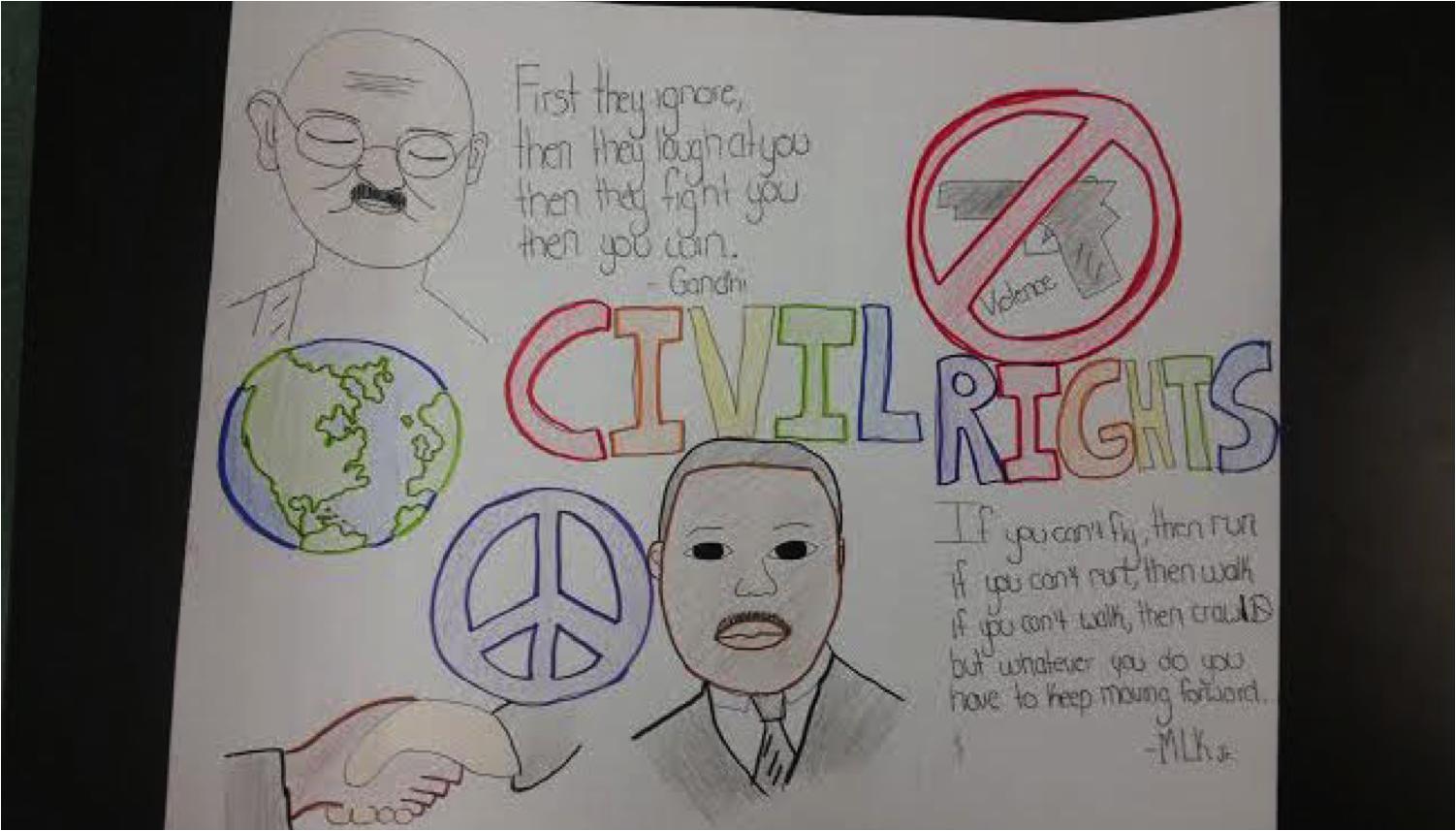 Peace by Nadia White PD Jackson Olin High School - 9th grade