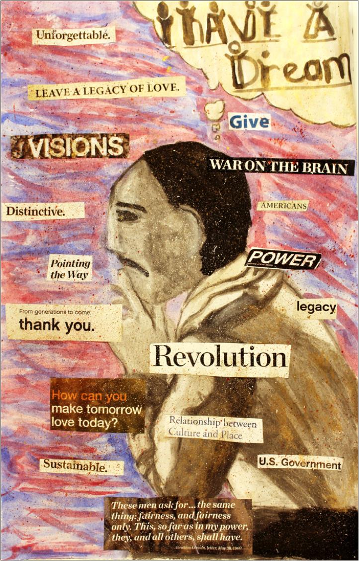 MLK Collage by Marilyn ClevelandJefferson County International Baccalaureate School  – 11th grade