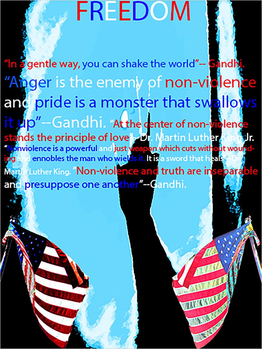 Freedom Poster by Hampton Walker The Altamont School – 9th grade