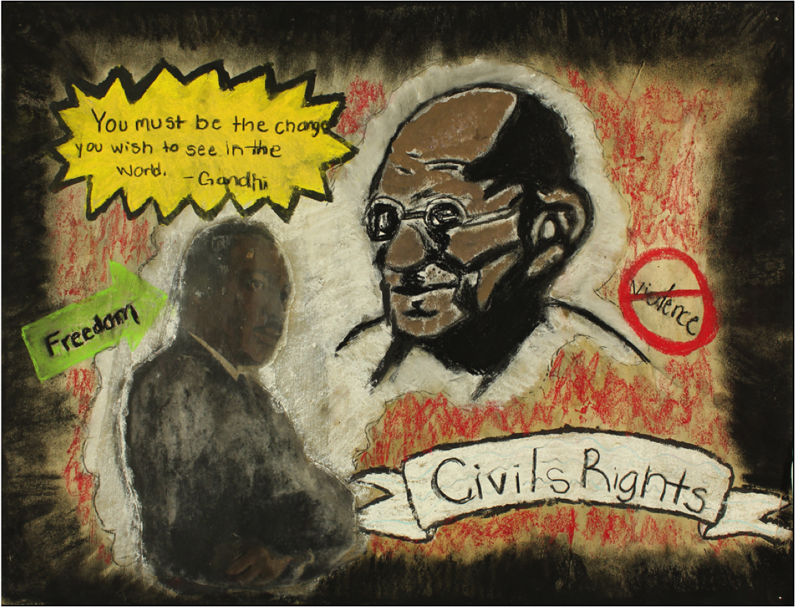 Be The Change by Taylor Berry Shades Valley High School – 11th grade