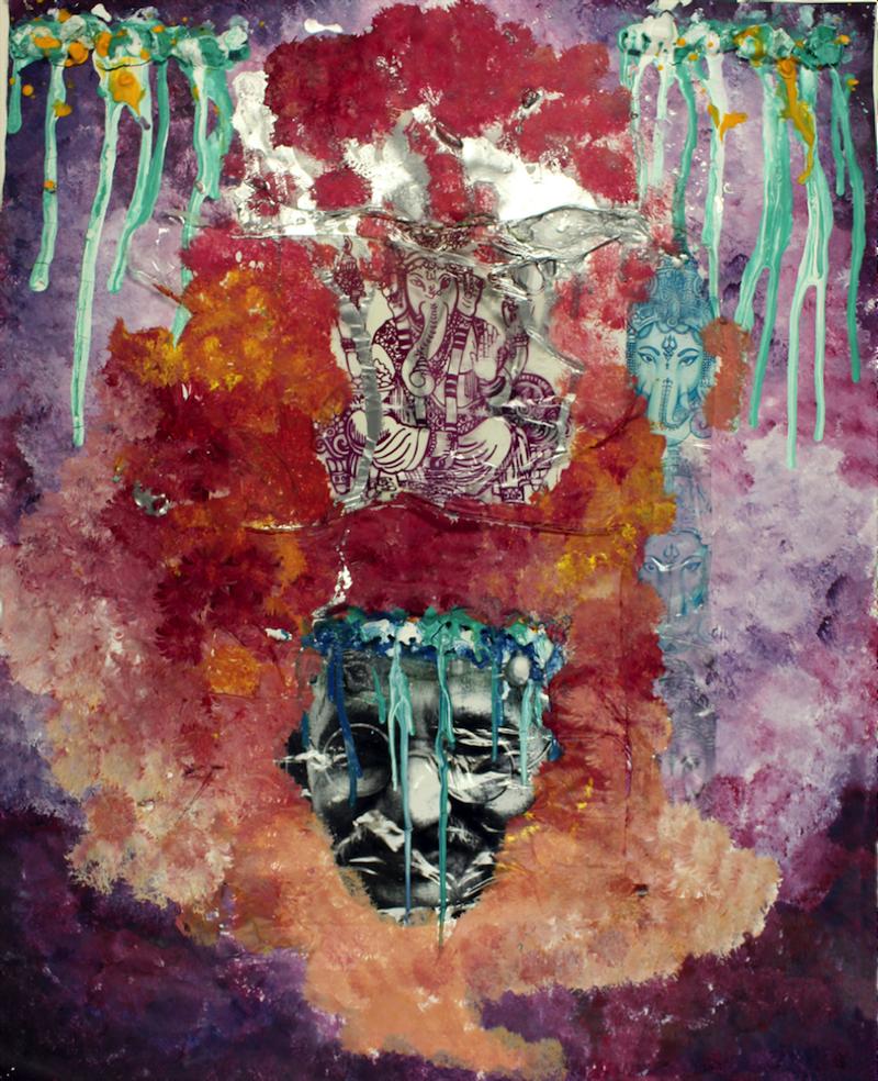 Color of Gandhi by Alissa CarrJefferson County School of Visual Arts – 12th grade