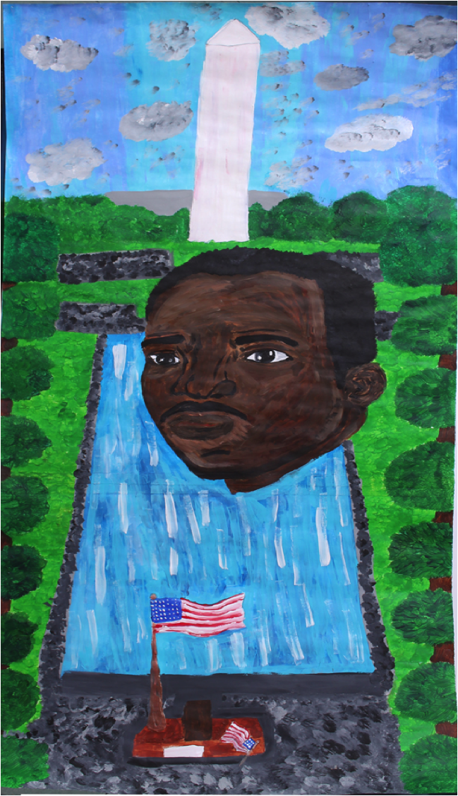 Reflecting Pool by Catherine WebbJefferson County School of Visual Arts – 12th grade