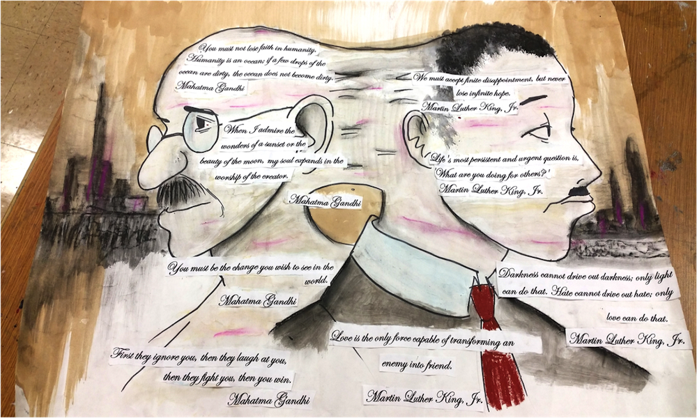 Connection by Darien MaloneShades Valley High School – 10th grade