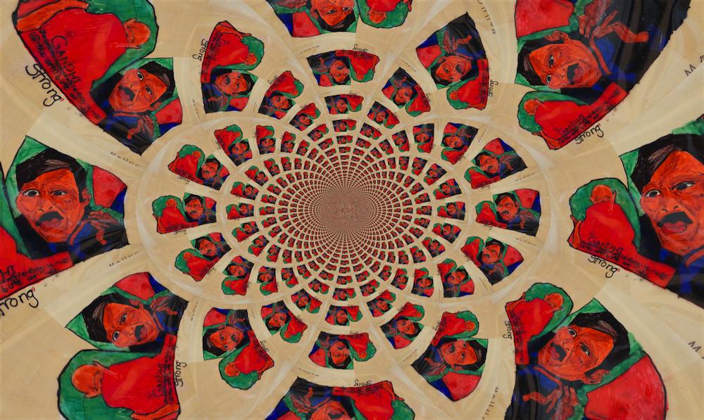 Kaleidoscope of Strength by Molly SteeleHomewood Middle School - 8th grade