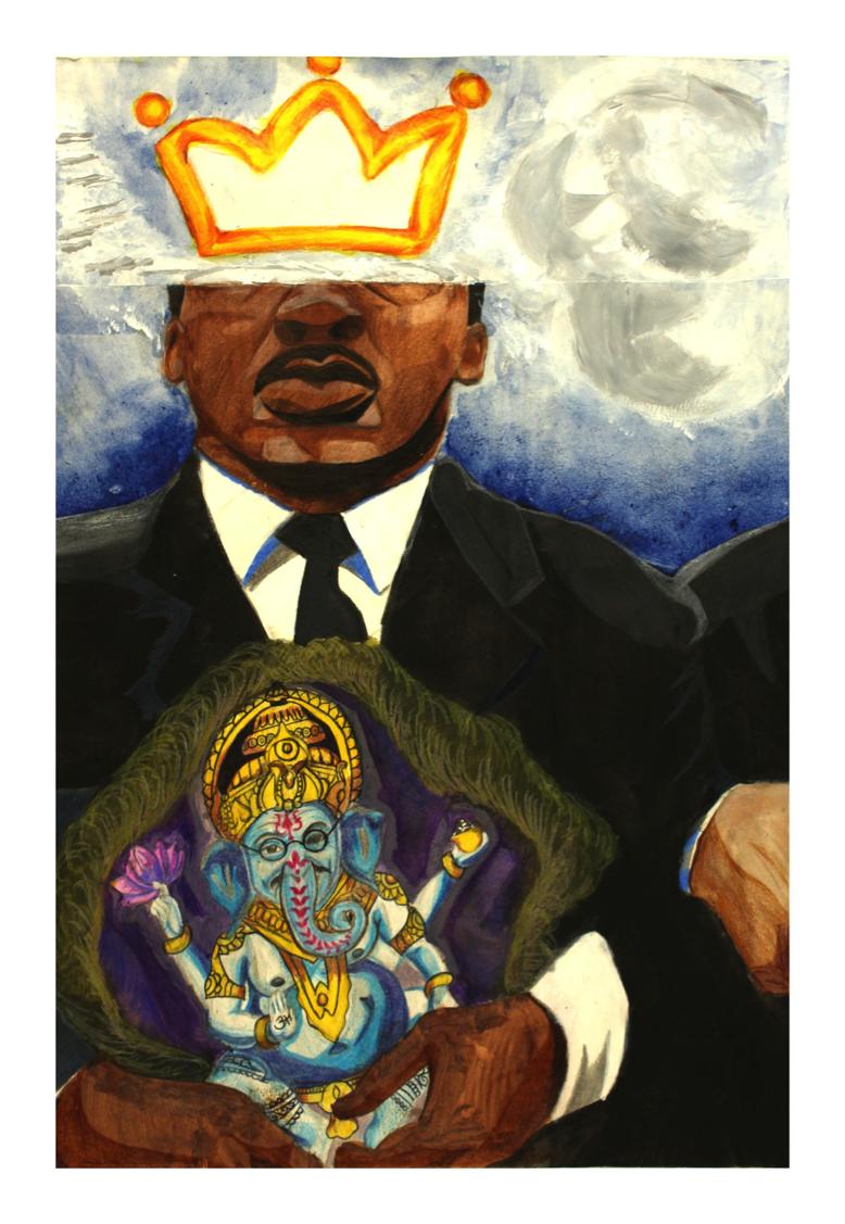 Ahimsa by LaTrell Clifford Wood Jefferson County School of the Arts12th grade
