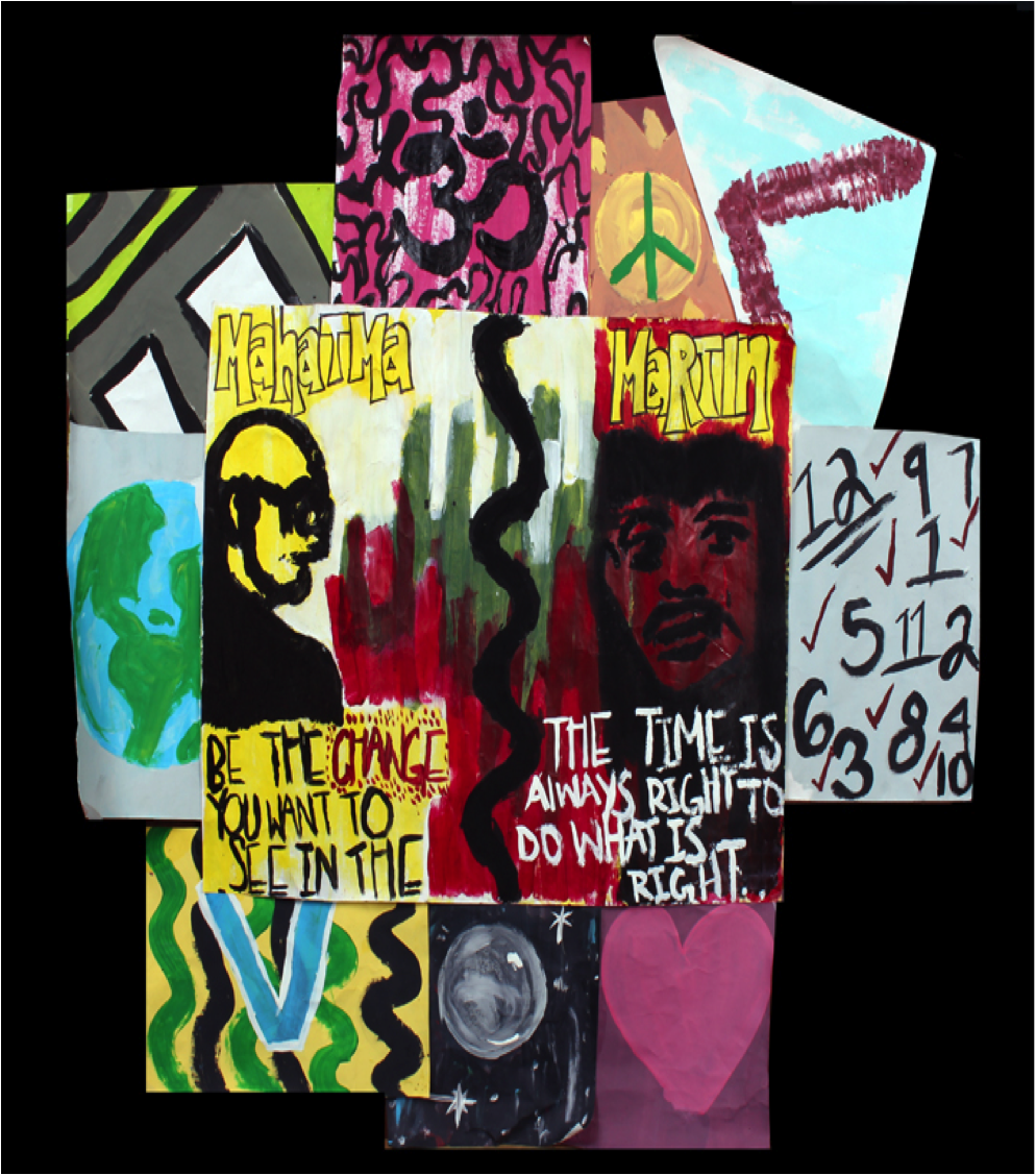 Gandhi and Martin's Vision of a Better Future by Darian Dunklin Jefferson County School of Visual Arts – 11th grade