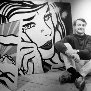 Roy Lichtenstein (image from artesmagazine.com)