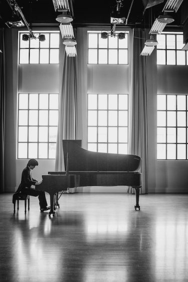 Pianist Sean Chen Performs at the Museum