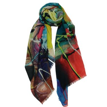 A Museum Store best-seller, our assorted scarves are sure to please every lady on your list! / $20-$120