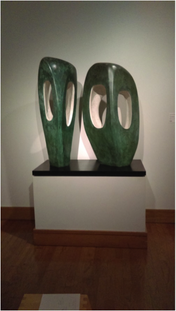 """Spotlight on the Collection: January 2016, """"Two Forms in Echelon"""""""