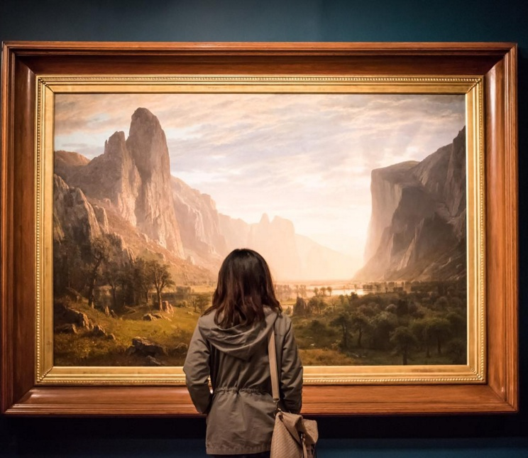 Visitors' View: Albert Bierstadt
