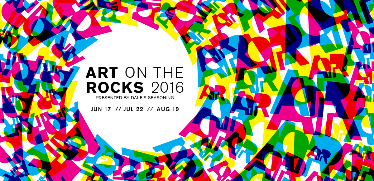 Art on the Rocks 2016 Artsbma Website Header