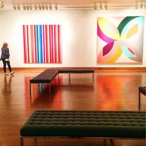 Instagram photo of contemporary gallery.