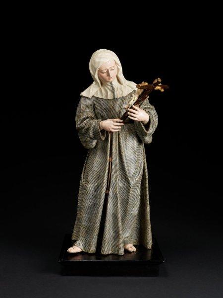 Saint Margaret of Cortona, José de Mora and Diego de Mora, About 1700-1720, Spain