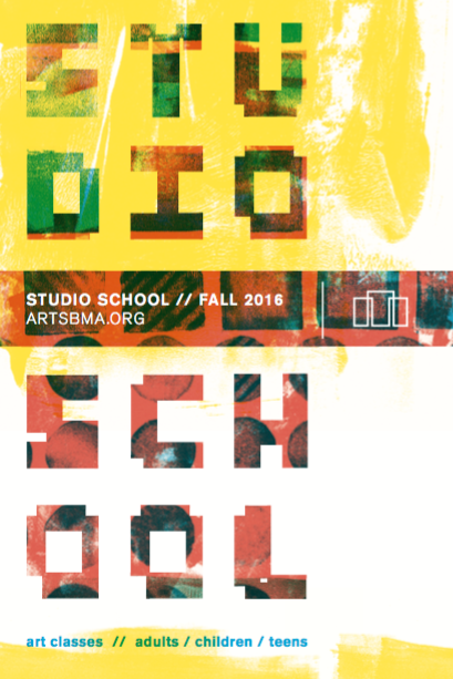 Studio school flyer