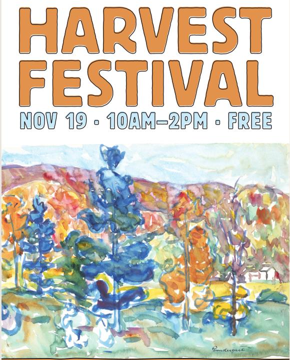 Harvest Festival, November 19th