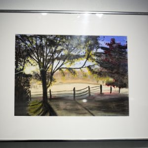 Title: Field of Imagination Medium: Watercolor Name: Sara Hinton Age: 17 Grade: 12 School: Westminster School at Oak Mountain School System: Private Art Instructor: Cathye Price Principal: Chris Knowles