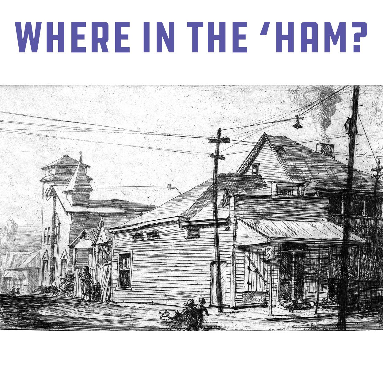 Coe Where in the Ham - square 2b