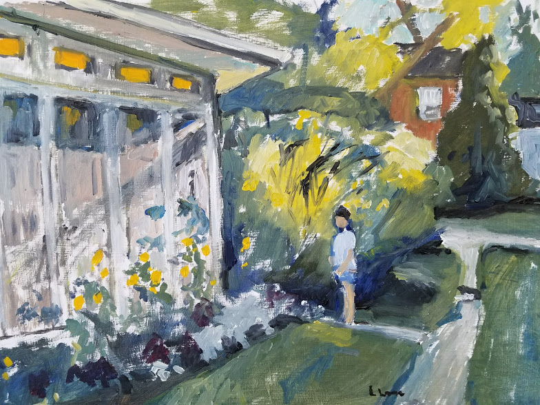 "Lorrie Lane, ""Porch"""