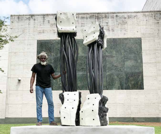 MS Society Commissions Sculpture by Darius Hill
