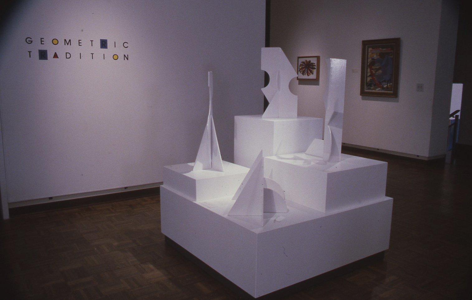Installation view of Betty Gold Kaikoo II Installation and Exhibition of Maquettes, April 22, 1986 - May 25, 1986 at the Museum. Image from the Birmingham Museum of Art exhibition archive.