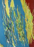 Weeds, Arthur Weeks, acrylic on canvas