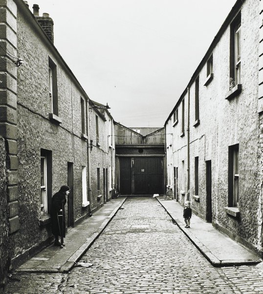 Watching--A Street Scene, Dublin, Ireland, Alen MacWeeney, Published by Hyperion Press Limited, gelatin silver print