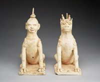 Tomb Guardians, China, earthenware
